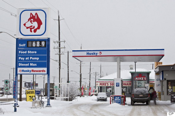 edmonton gas price