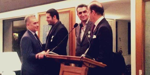 Farid Bensaid, Nabil Ayouch et Hicham Lahlou décorés par la France à Rabat