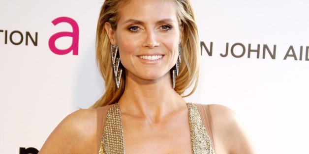"""Heidi Klum enttäusch von ihren """"Topmodels"""""""