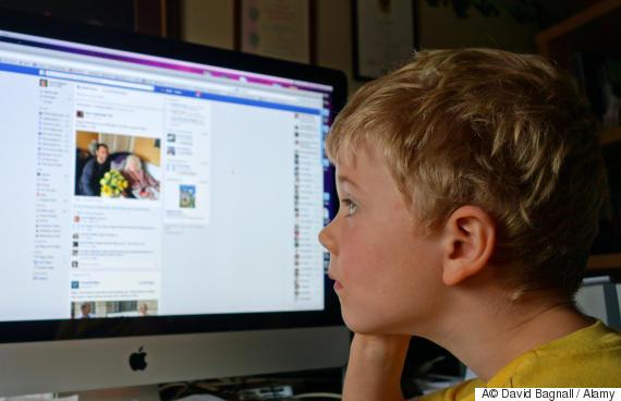 social media children