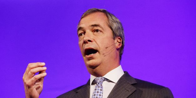 Ukip Party leader Nigel Farage