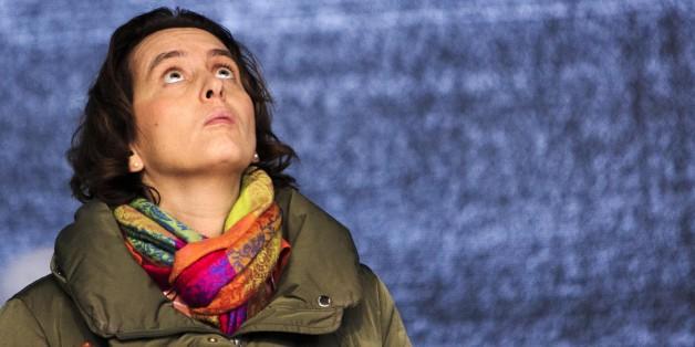 Beatrix von Storch auf einer AfD-Kundgebung