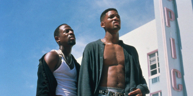 "Martin Lawrence (li.) und Will Smith in ""Bad Boys"""