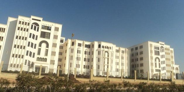 Une vue de l'université Belgaïd II à Oran