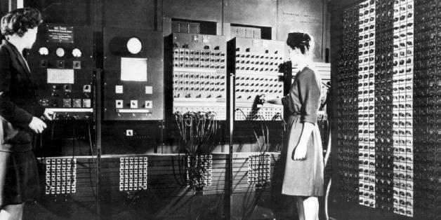 """ENIAC steht für """"Electronic Numerical Integrator And Computer"""" und gilt als der erste funktionstüchtige elektronische Computer der Welt."""