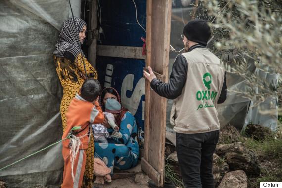 oxfam worker zaatari