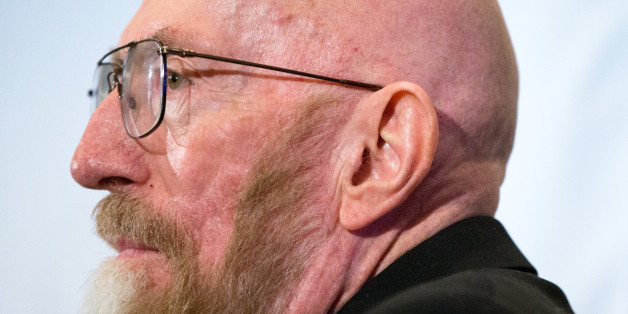 Laser Interferometer Gravitational-Wave Observatory (LIGO) Co-Founder Kip Thorne appears at a news conference at the National Press Club in Washington, Thursday, Feb. 11, 2016, to announce that scientists they have finally detected gravitational waves, the ripples in the fabric of space-time that Einstein predicted a century ago. The announcement has electrified the world of astronomy, and some have likened the breakthrough to the moment Galileo took up a telescope to look at the planets. (AP Ph