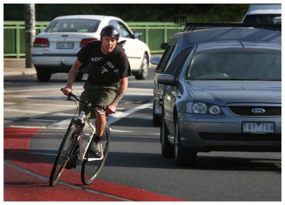 cyclist car australia
