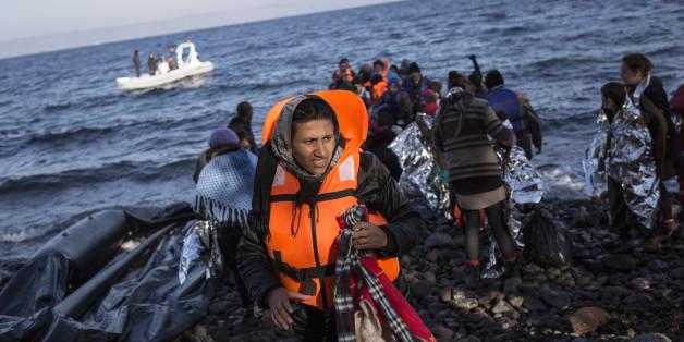 Viele Flüchtlinge reisen über Griechenland in die EU ein