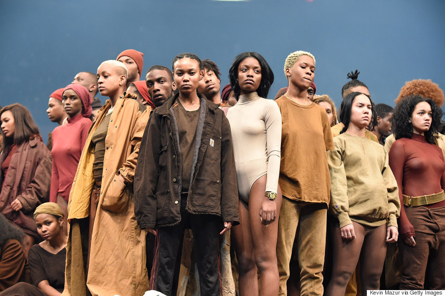 1d77e2629 Kanye West Debuts Yeezy Season 3 Collection And New Album  The Life ...
