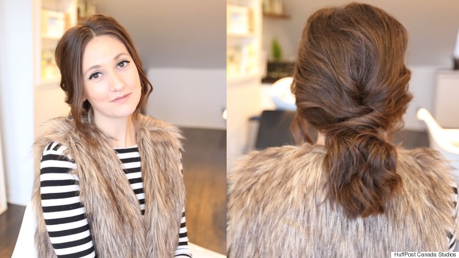 Valentines Hairstyles: Valentine's Day DIY Hairstyle: How To Get A Romantic