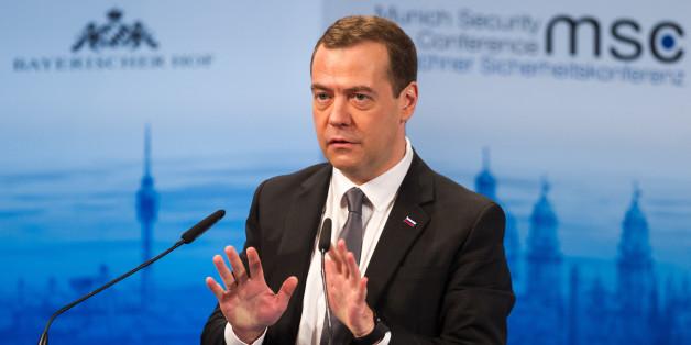 """Russlands Ministerpräsident: Russland und der Westen sind in """"neuem Kaltem Krieg"""""""