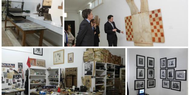 "Quand l'atelier de Farid Belkahia se transforme en ""mathaf"" (DIAPORAMA)"
