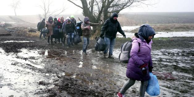 Die Balkanländer machen die Flüchtlingsroute dicht - und Österreich hilft
