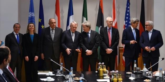 Les ministres des AE occidentaux et... l'égyptien