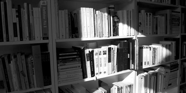 Vue sur une partie de mes bibliothèques de livres.