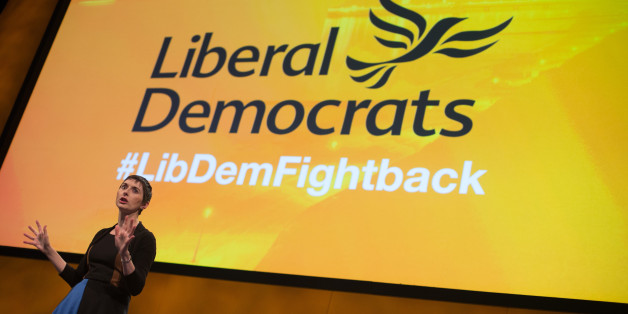 BOURNEMOUTH, ENGLAND - SEPTEMBER 19:  Caroline Pidgeon, the Lib Dem London Mayoralty candidate speaks at a Members' Rally on the first day of the Liberal Democrats annual conference on September 19, 2015 in Bournemouth, England. The Liberal Democrats are currently holding their annual conference using the hashtag #LibDemfightback in Bournemouth.  The conference is the first since the party lost all but eight of its MPs in May's UK general election, however after gaining 20,000 new members since