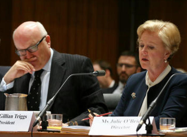 gillian triggs and george brandis
