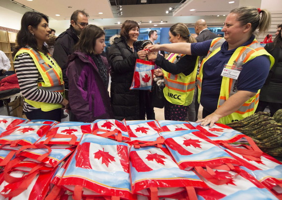syrian refugees welcome toronto