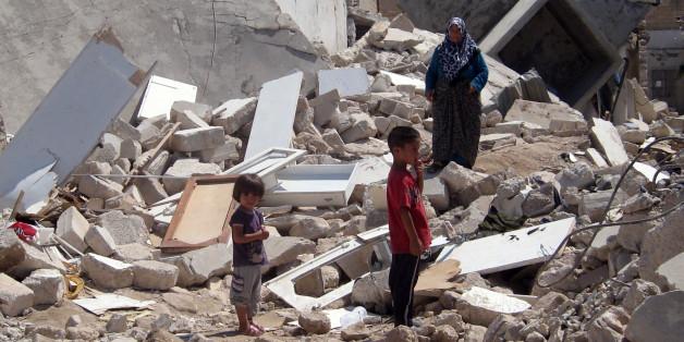 Luftangriffe zerstören in Syrien Häuser. Nun also auch ein Krankenhaus von Ärzte ohne Grenzen. (Symbolbild)