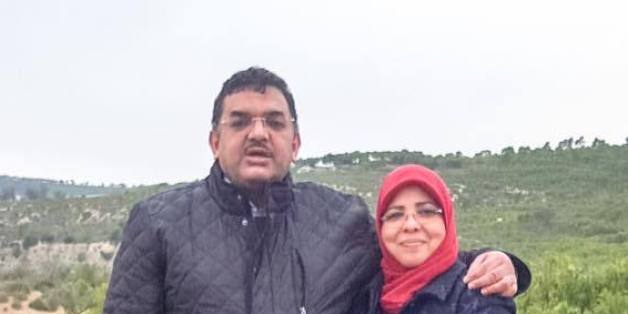 Lotfi Zitoun et sa femme