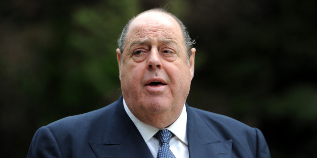 Sir Nicholas Soames MP before the unveiling of a bust of Sir Winston Churchill in the grounds of Blenheim Palace, Oxfordshire.