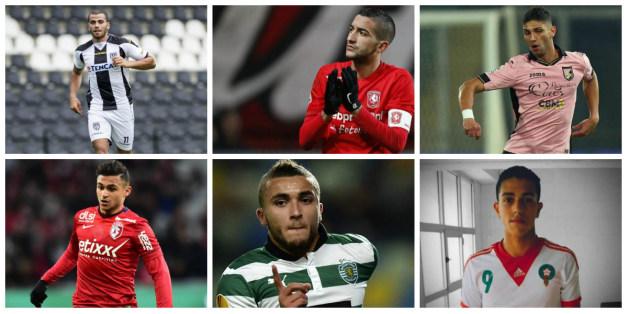 Les dix futurs grands footballeurs marocains.