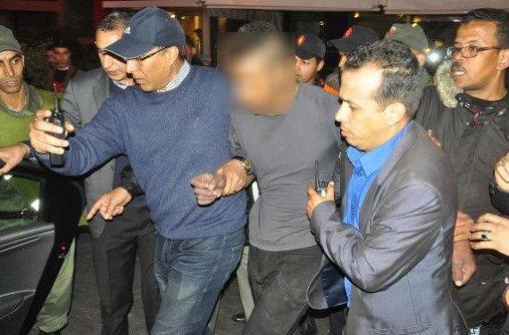 homme menace suicide marrakech