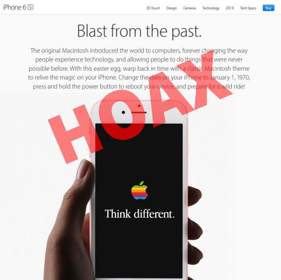 iphone hoax