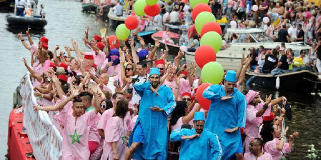 Un bateau marocain à la Gay Pride d'Amsterdam?