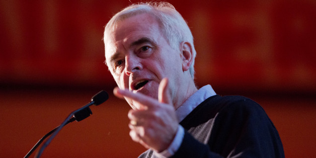 File photo dated 21/11/15 of shadow chancellor John McDonnell, who is considering plans that would mean employees could be granted the first right to buy a share of their company if it is floated on the stock exchange.