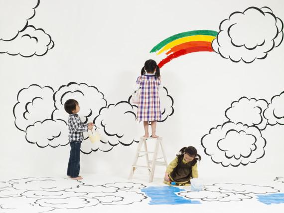 happy child art