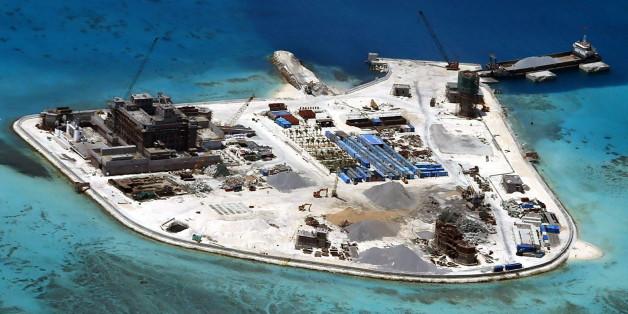 Auf diesen Insel stationiert China Boden-Luft-Rakten