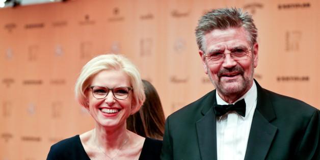 Günther Klum mit seiner Frau: Er verklagt seine Heimatstadt wegen Schlaglöchern - doch die Richter wiesen die Klage zurück
