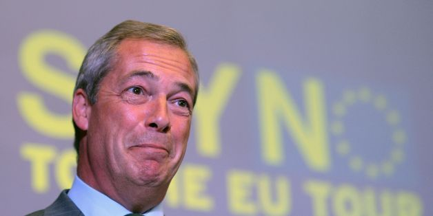Ukip leader Nigel Farage, who is heavily involved with the GO Movement