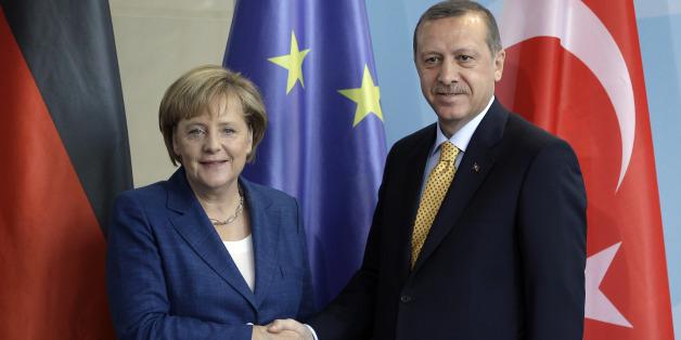Merkel und Erdogan.