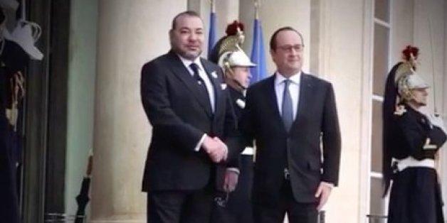 Environnement et crise libyenne au cœur des entretiens entre Mohammed VI et François Hollande