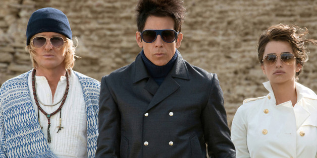 "In ""Zoolander 2"" müssen die Models Derek Zoolander (Ben Stiller, Mitte), Hansel (Owen Wilson) und Fashion-Polizistin Valentina (Penélope Cruz) die Welt retten"