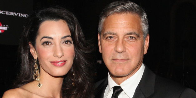 George und Amal Clooney unterstützen Angela Merkel