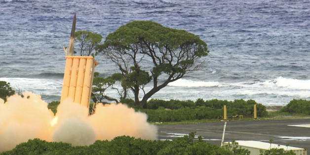 """Oct. 25, 2012 - A Terminal High Altitude Area Defense (THAAD) interceptor is launched from Meck Island on its way to an intercept of a ballistic missile target during MDA's historic flight test on Oct. 24, 2012 (Oct. 25 Kwajalein time). To learn more, visit <a href=""""http://www.mda.mil/system/thaad.html"""" rel=""""nofollow"""">www.mda.mil/system/thaad.html</a>."""