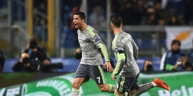 Le but incroyable de Cristiano Ronaldo lors de la victoire du Real Madrid face à l'AS Rome
