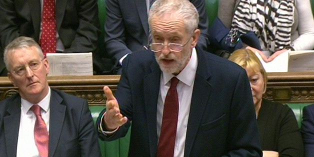 Labour Party leader Jeremy Corbyn asks an Urgent Question in the House of Commons, London on UK relationship with EU.