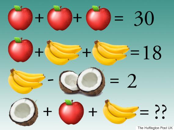 facebook algebra puzzle