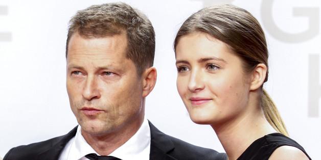 """Til Schweiger und seine Tochter Luna Schweiger spielen die Hauptrollen im """"Tischlere-Tatort""""."""