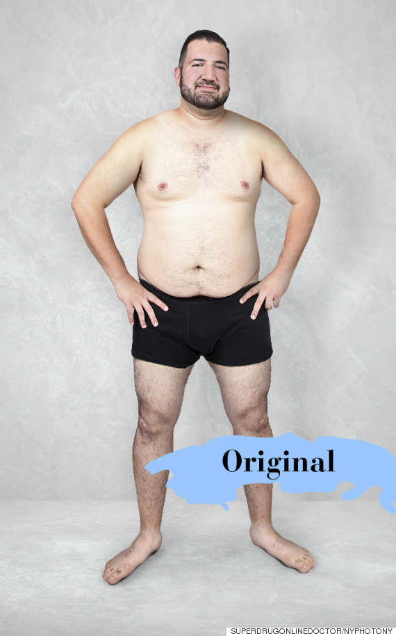 male body image
