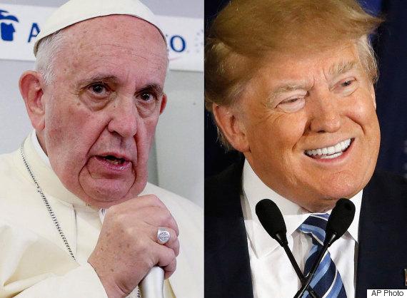 pope donald trump