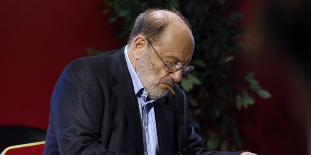 Umberto Eco à Paris le 12 mai 2015