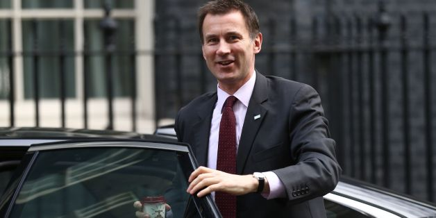 British Health Secretary Jeremy Hunt arrives at Downing Street in London on February 20 , 2016 for a meeting of the cabinet following Prime Minister David Cameron's return from EU negotiations in Brussels. Prime Minister David Cameron takes a deal giving Britain 'special status' in the EU back to London on February 20 hoping it will be enough to keep his country in the bloc as campaigning begins for a crucial in-out referendum. The British premier is expected to announce a date for the vote, lik