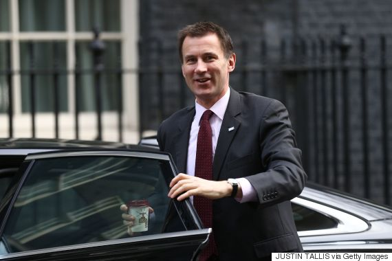 jeremy hunt downing