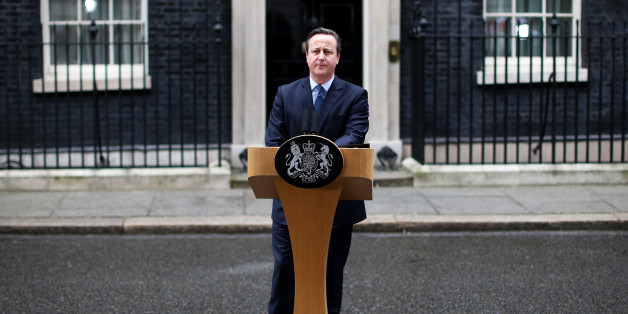LONDON, ENGLAND - FEBRUARY 20:  British Prime Minister David Cameron speaks outside 10 Downing Street on February 20, 2016 in London, England. Mr Cameron has returned to London after securing a deal following two days of talks with European leaders in Brussels regarding Britain's relationship with the EU. He said the deal will give the United Kingdom 'special status' within the EU. An in/out referendum on EU membership is expected as early as June this year.  (Photo by Carl Court/Getty Images)